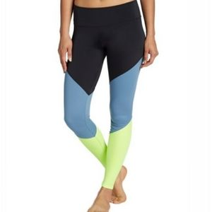 ONZIE Color Block High Rise Track Leggings Size M